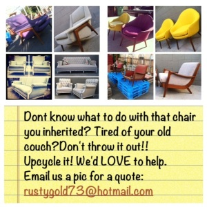 UPCYCLING: It doesn't get much greener than that!